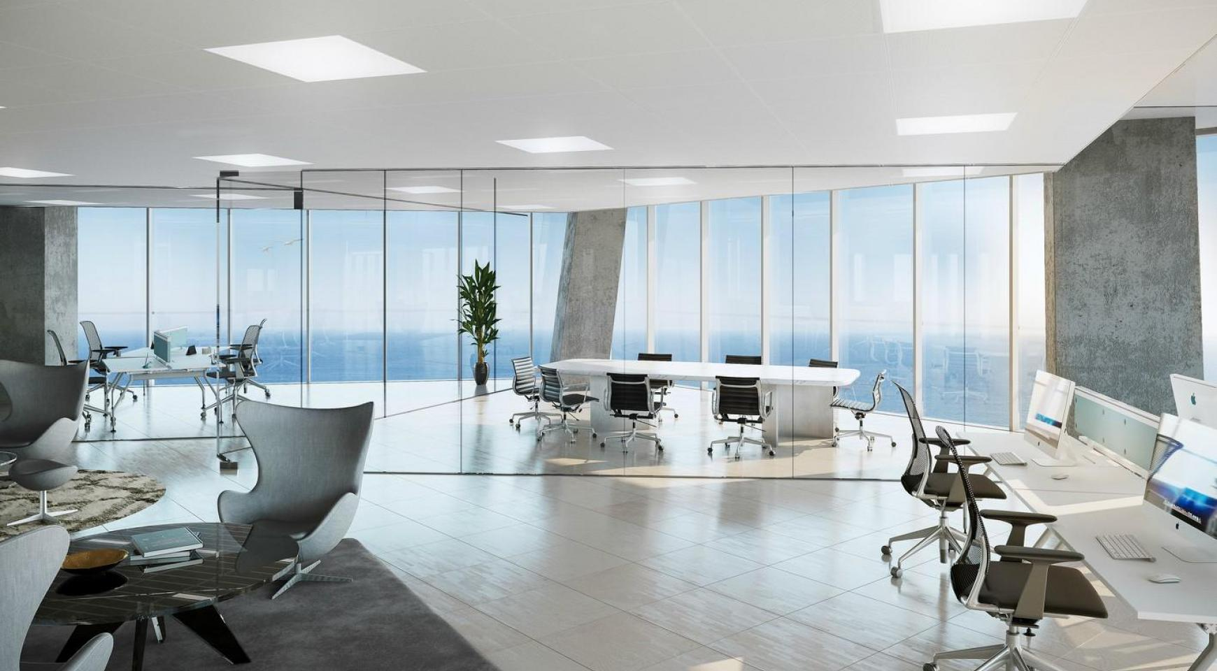 Exclusive Office in a New Project by the Sea in the City Centre  - 1