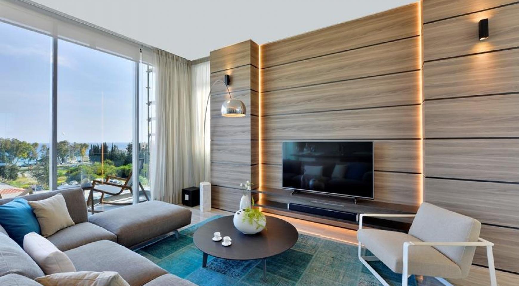 Πολυτελές διαμέρισμα 2 υπνοδωματίων με ταράτσα στο νεόδμητο συγκρότημα - 2