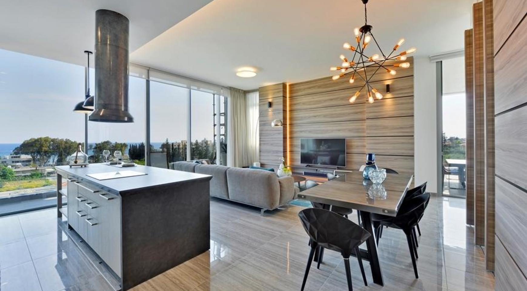 Πολυτελές διαμέρισμα 2 υπνοδωματίων με ταράτσα στο νεόδμητο συγκρότημα - 5