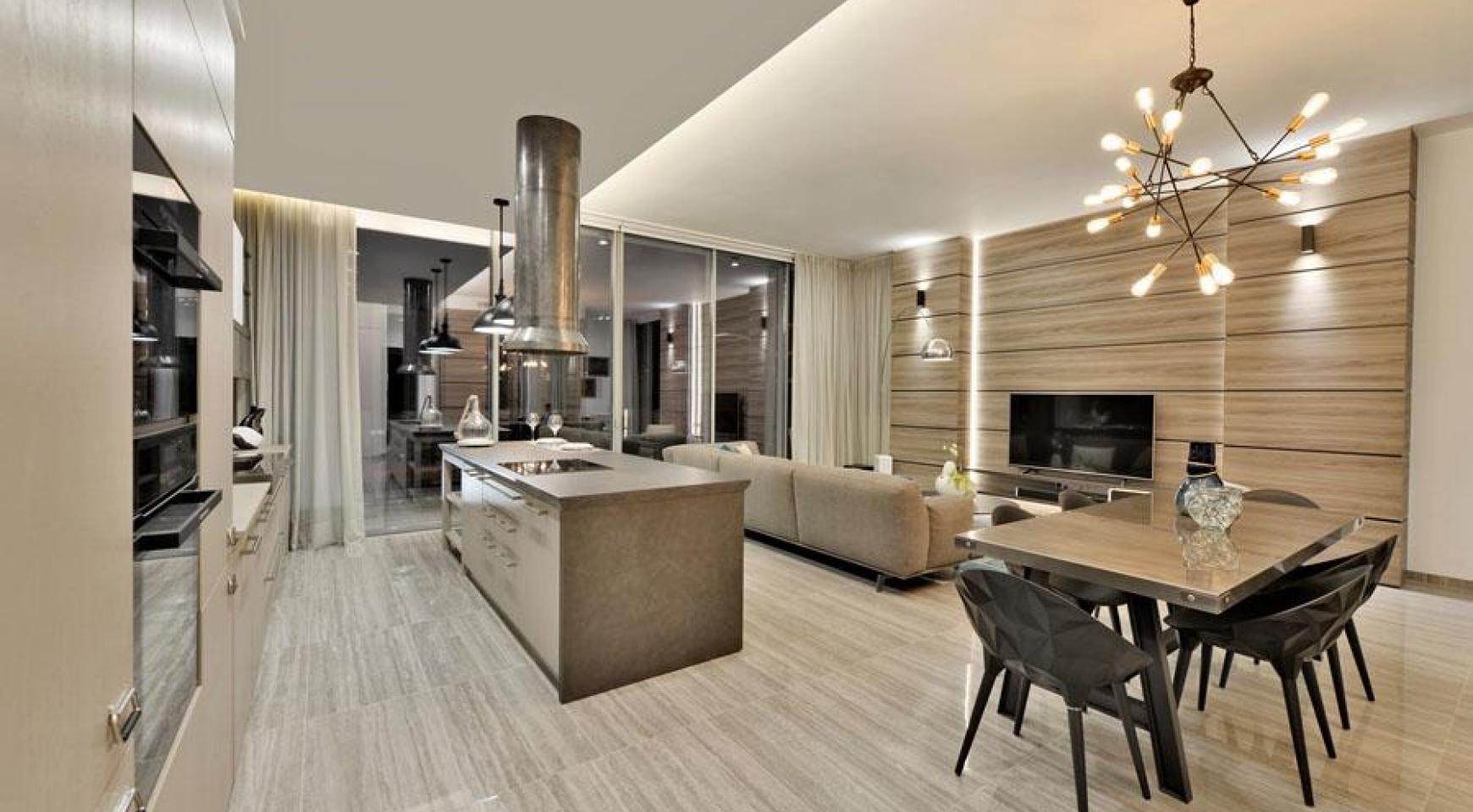 Πολυτελές διαμέρισμα 2 υπνοδωματίων με ταράτσα στο νεόδμητο συγκρότημα - 10