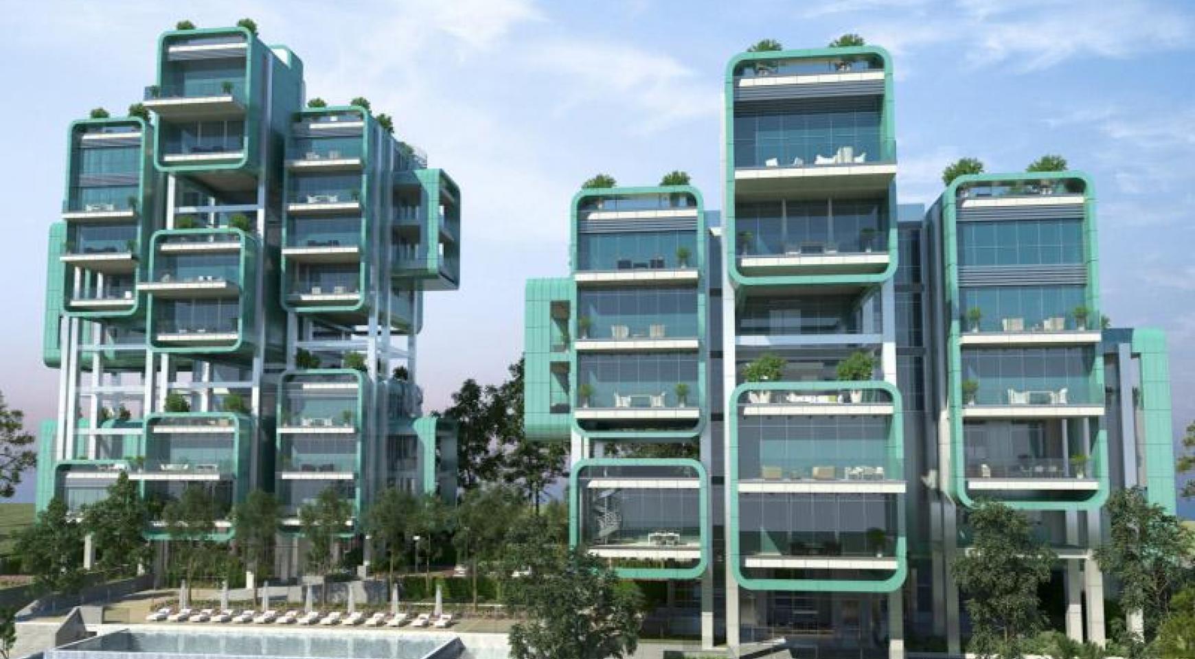 Πολυτελές διαμέρισμα 2 υπνοδωματίων με ταράτσα στο νεόδμητο συγκρότημα - 28