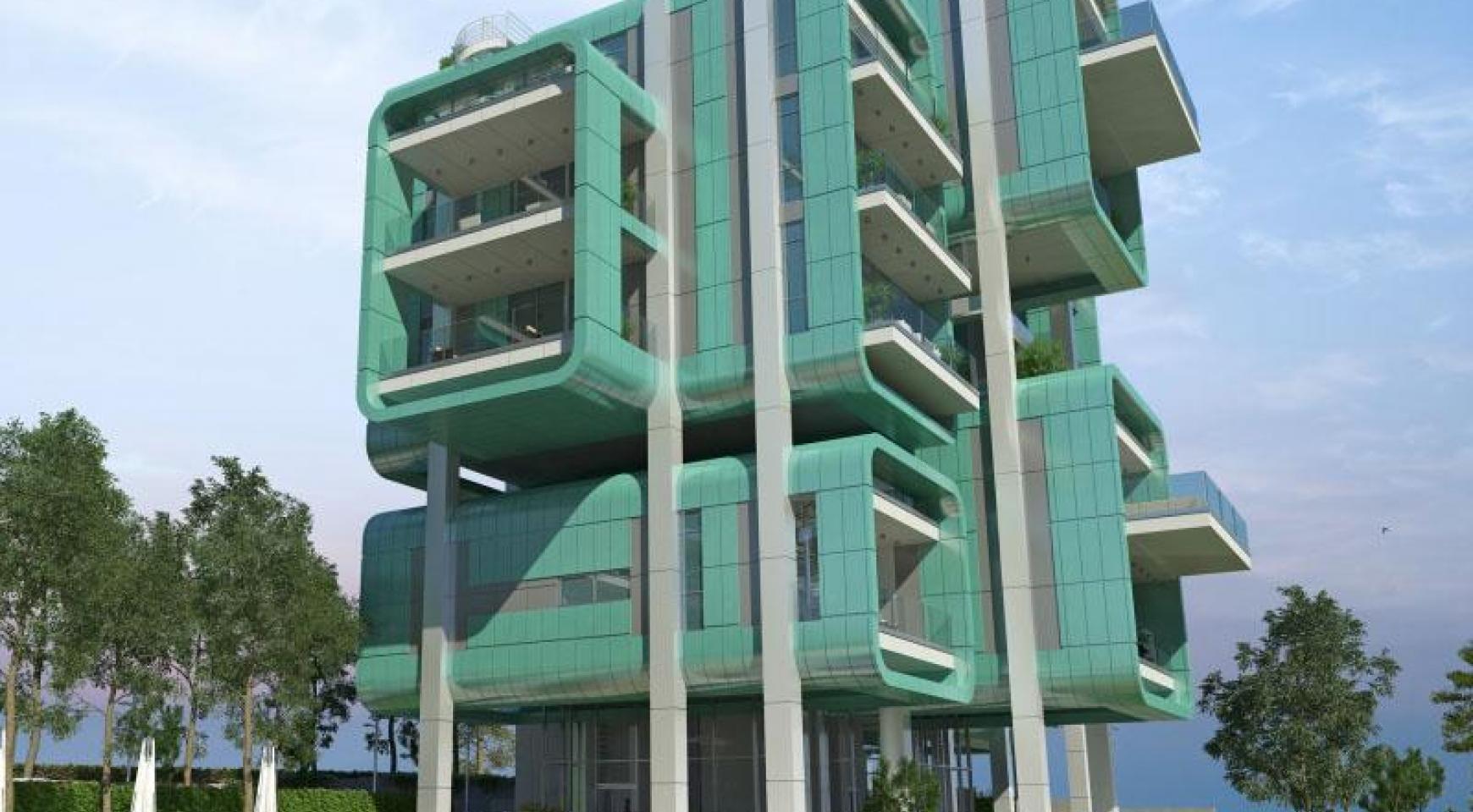 Πολυτελές διαμέρισμα 2 υπνοδωματίων με ταράτσα στο νεόδμητο συγκρότημα - 29