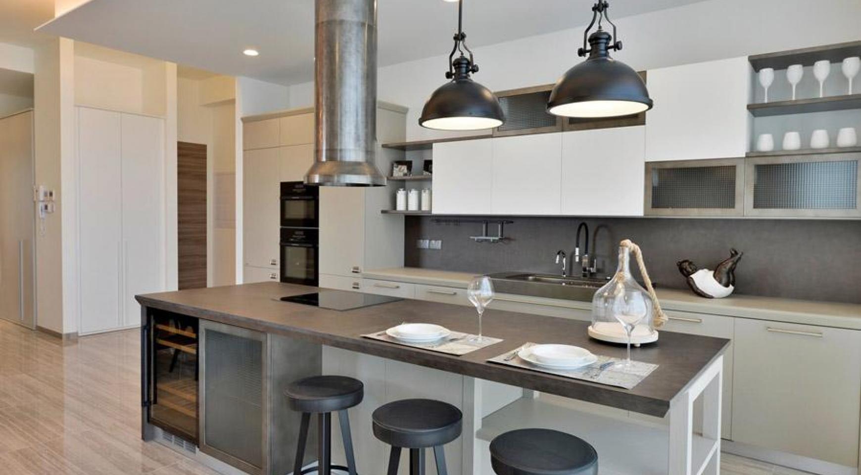 Πολυτελές διαμέρισμα 2 υπνοδωματίων με ταράτσα στο νεόδμητο συγκρότημα - 4