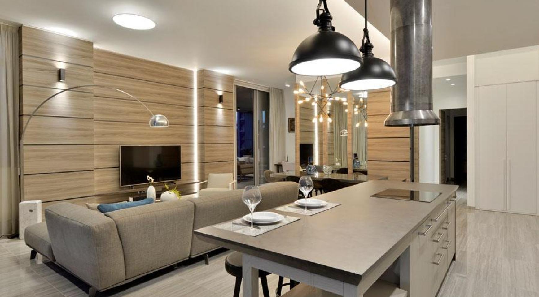 Πολυτελές διαμέρισμα 2 υπνοδωματίων με ταράτσα στο νεόδμητο συγκρότημα - 13