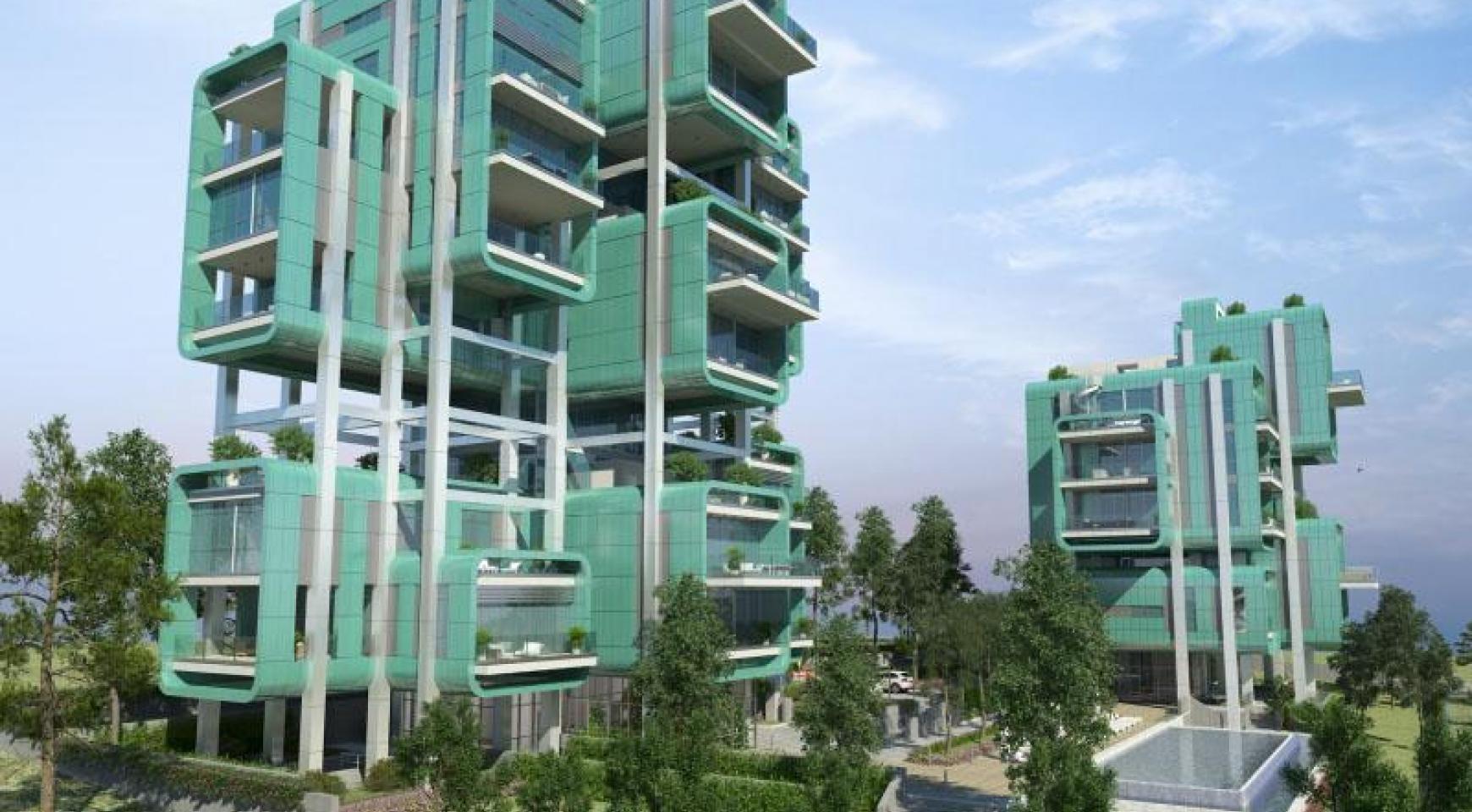 Πολυτελές διαμέρισμα 2 υπνοδωματίων με ταράτσα στο νεόδμητο συγκρότημα - 27