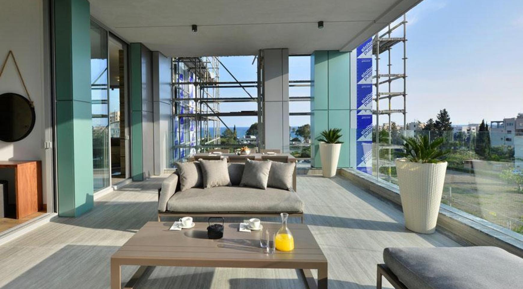 Πολυτελές διαμέρισμα 2 υπνοδωματίων με ταράτσα στο νεόδμητο συγκρότημα - 12