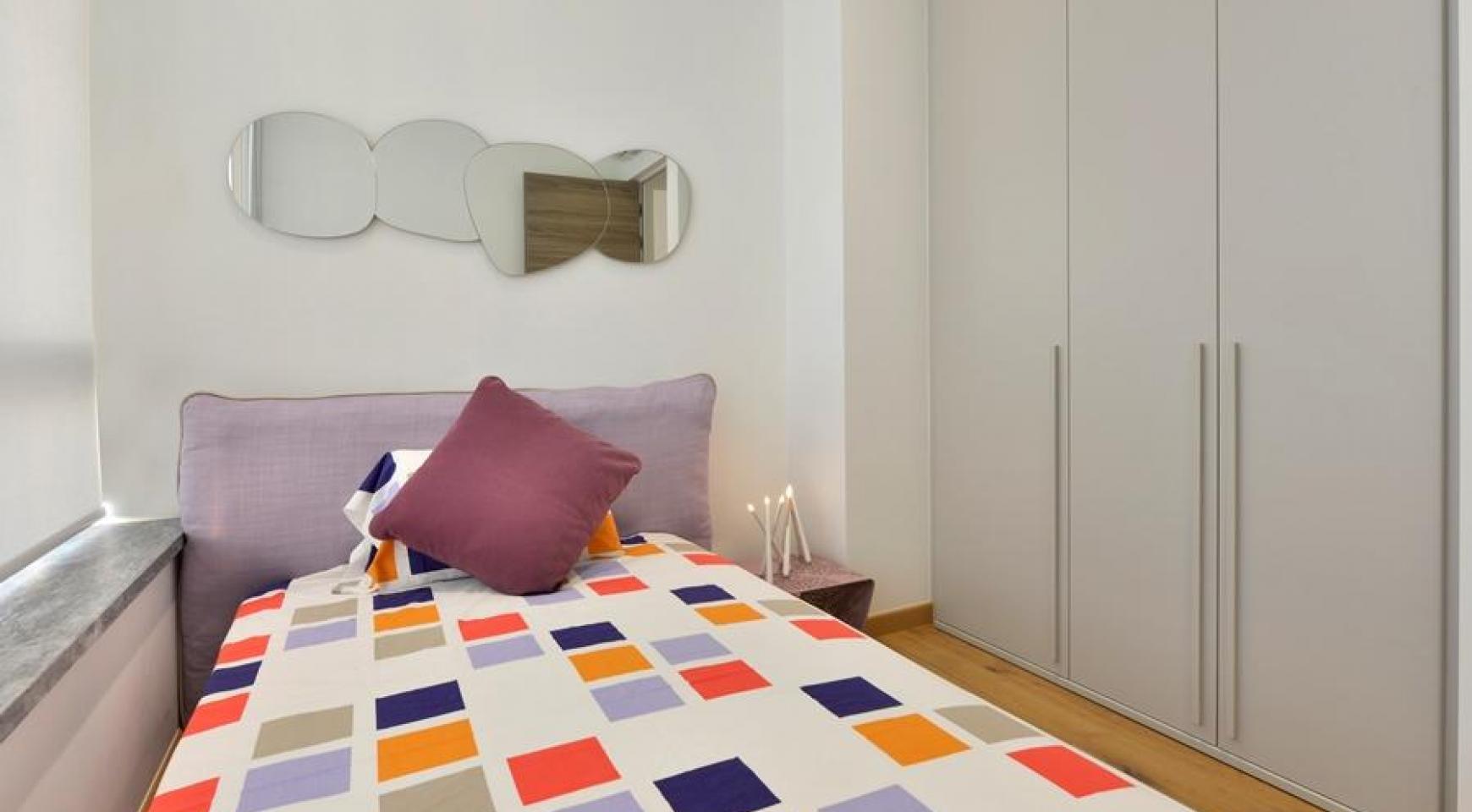 Πολυτελές διαμέρισμα 2 υπνοδωματίων με ταράτσα στο νεόδμητο συγκρότημα - 19