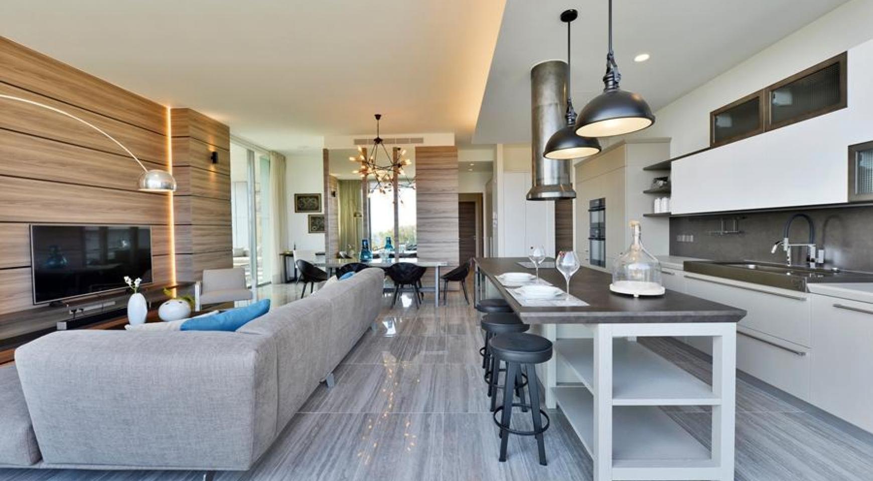 Πολυτελές διαμέρισμα 2 υπνοδωματίων με ταράτσα στο νεόδμητο συγκρότημα - 3