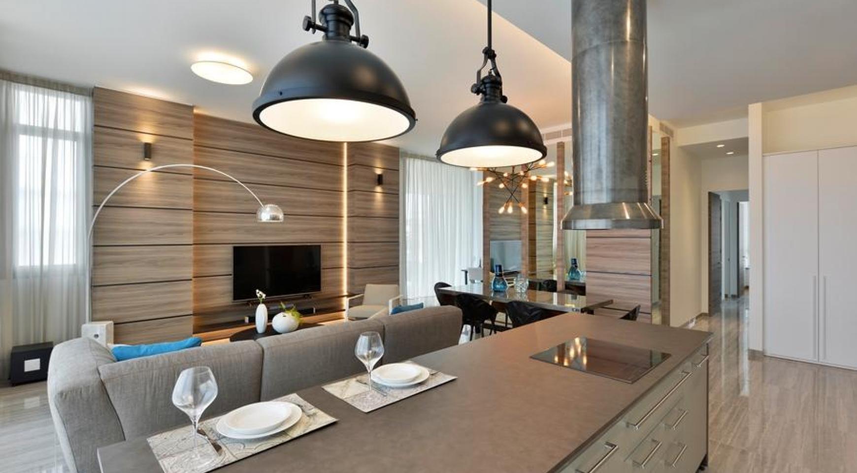 Πολυτελές διαμέρισμα 2 υπνοδωματίων με ταράτσα στο νεόδμητο συγκρότημα - 6