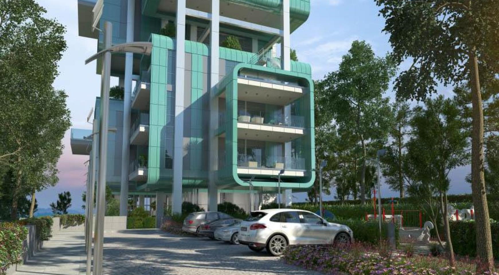 Πολυτελές διαμέρισμα 2 υπνοδωματίων με ταράτσα στο νεόδμητο συγκρότημα - 30