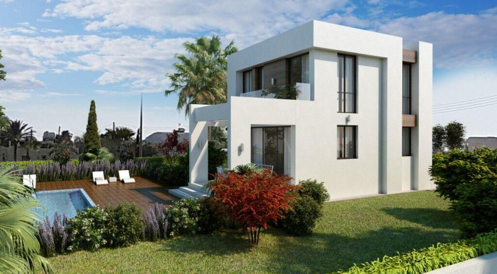 Modern 3 Bedroom Villa in a Complex near the Beach - 2