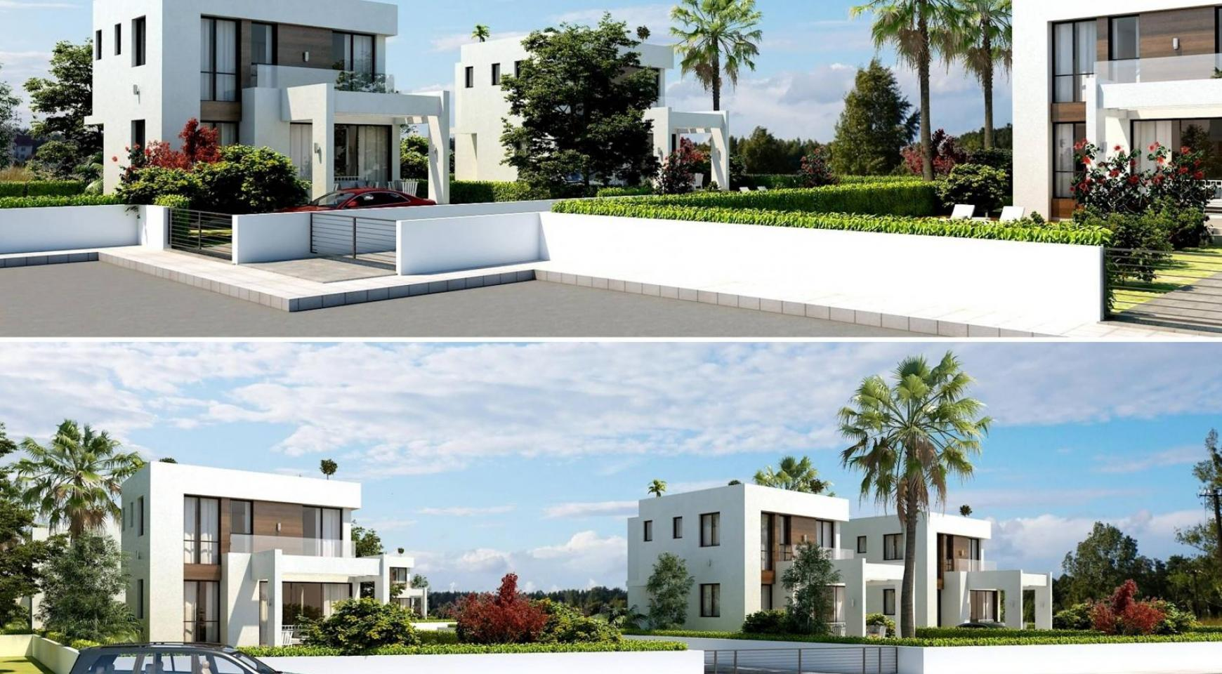Modern 3 Bedroom Villa in a Complex near the Beach - 9