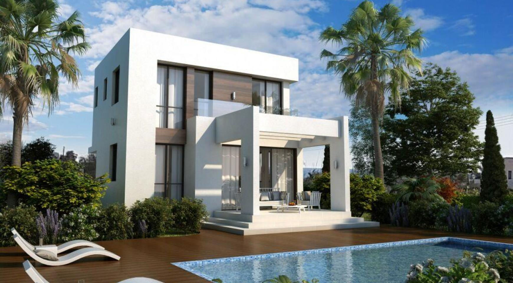 Modern 3 Bedroom Villa in a Complex near the Beach - 11