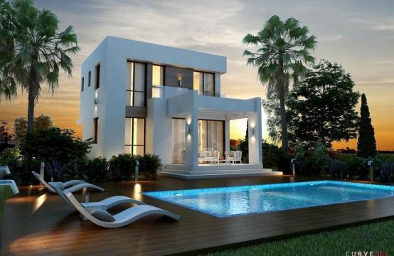 Modern 3 Bedroom Villa in a Complex near the Beach