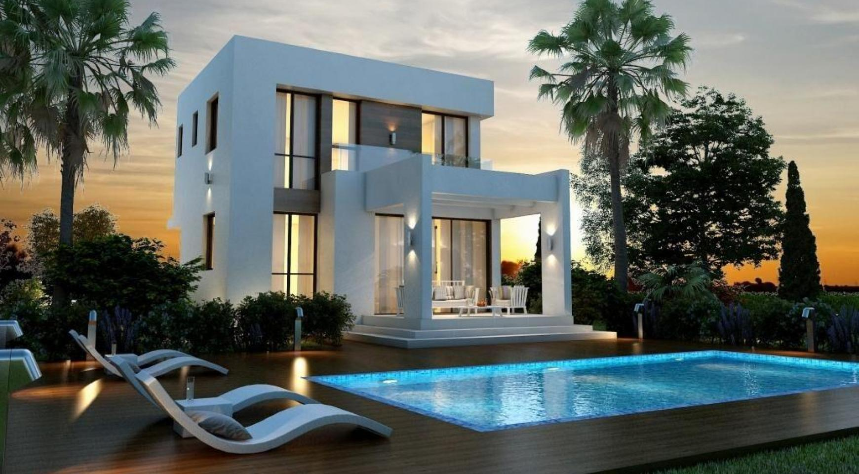Modern 3 Bedroom Villa in a Complex near the Beach - 1