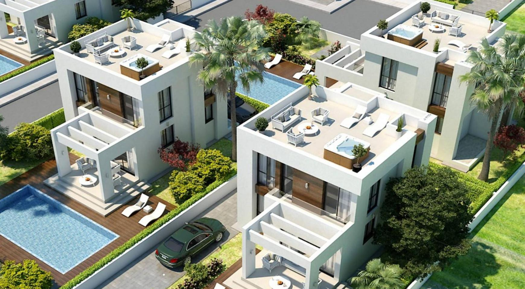 Modern 3 Bedroom Villa in a Complex near the Beach - 1
