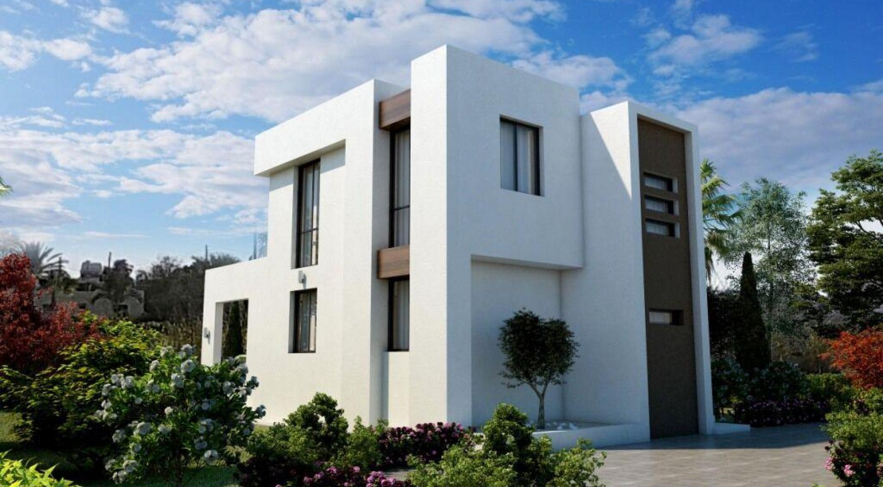 Modern 3 Bedroom Villa in a Complex near the Beach - 4