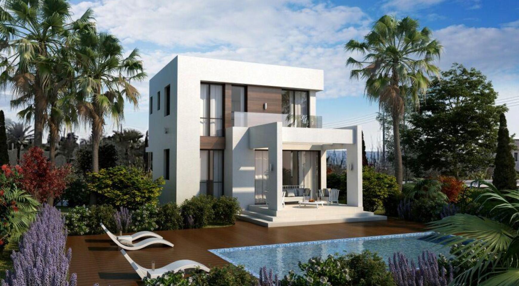 Modern 3 Bedroom Villa in a Complex near the Beach - 9