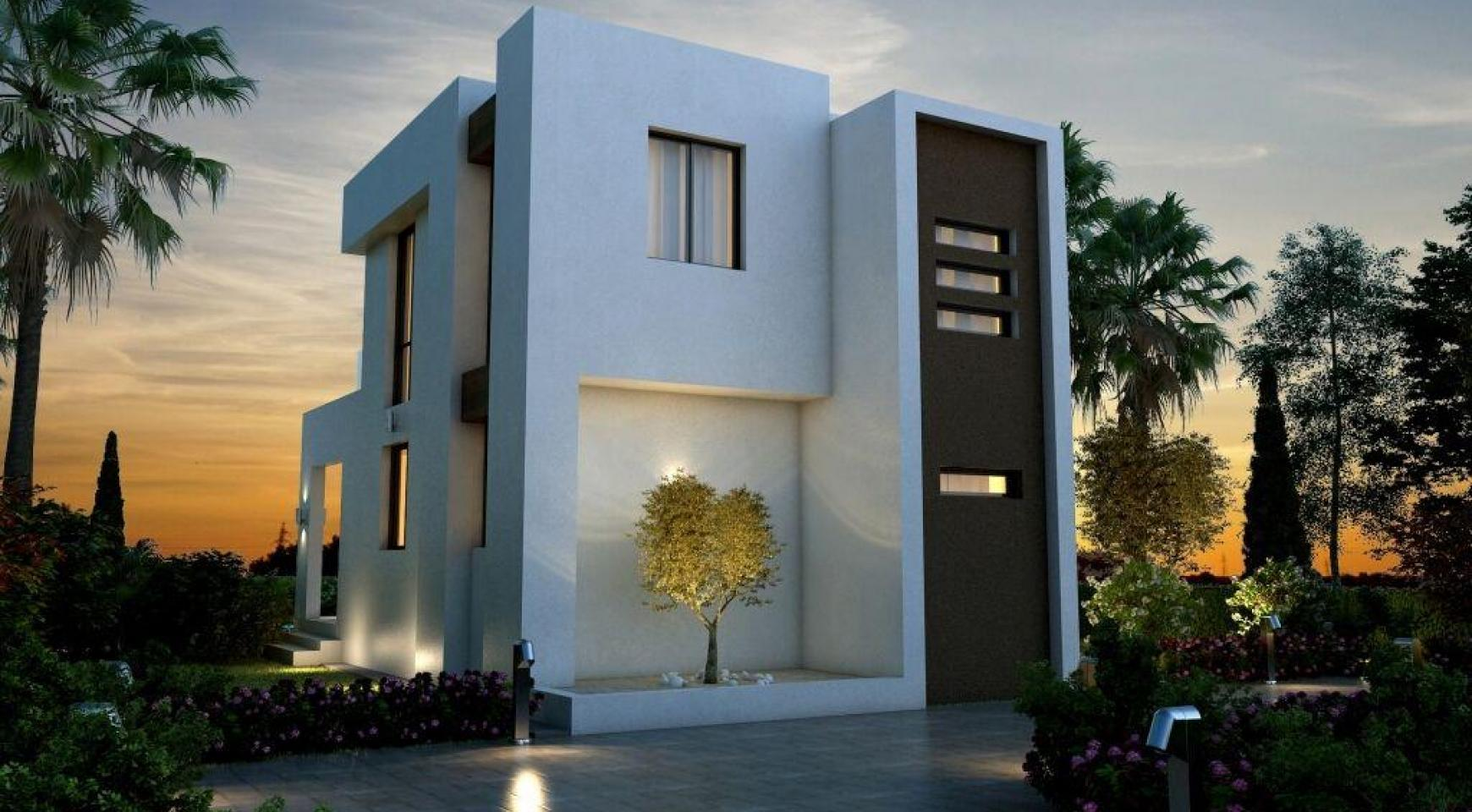 Modern 3 Bedroom Villa in a Complex near the Beach - 5