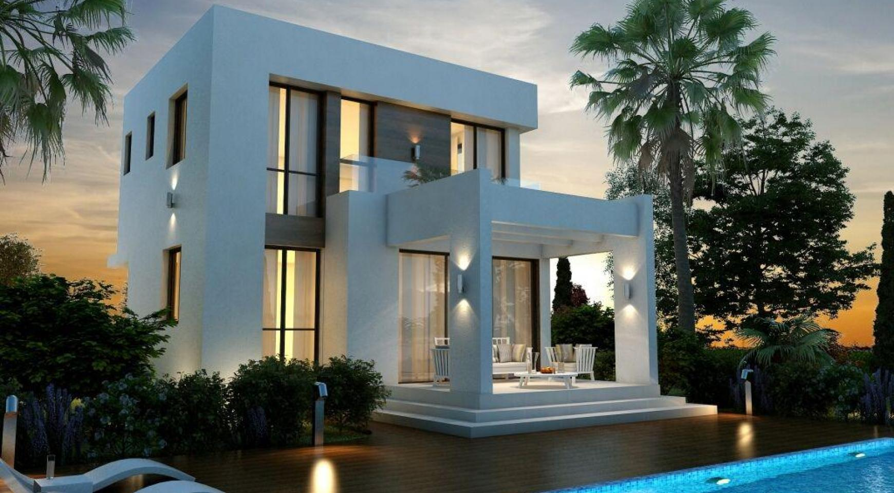 Modern 3 Bedroom Villa in a Complex near the Beach - 7