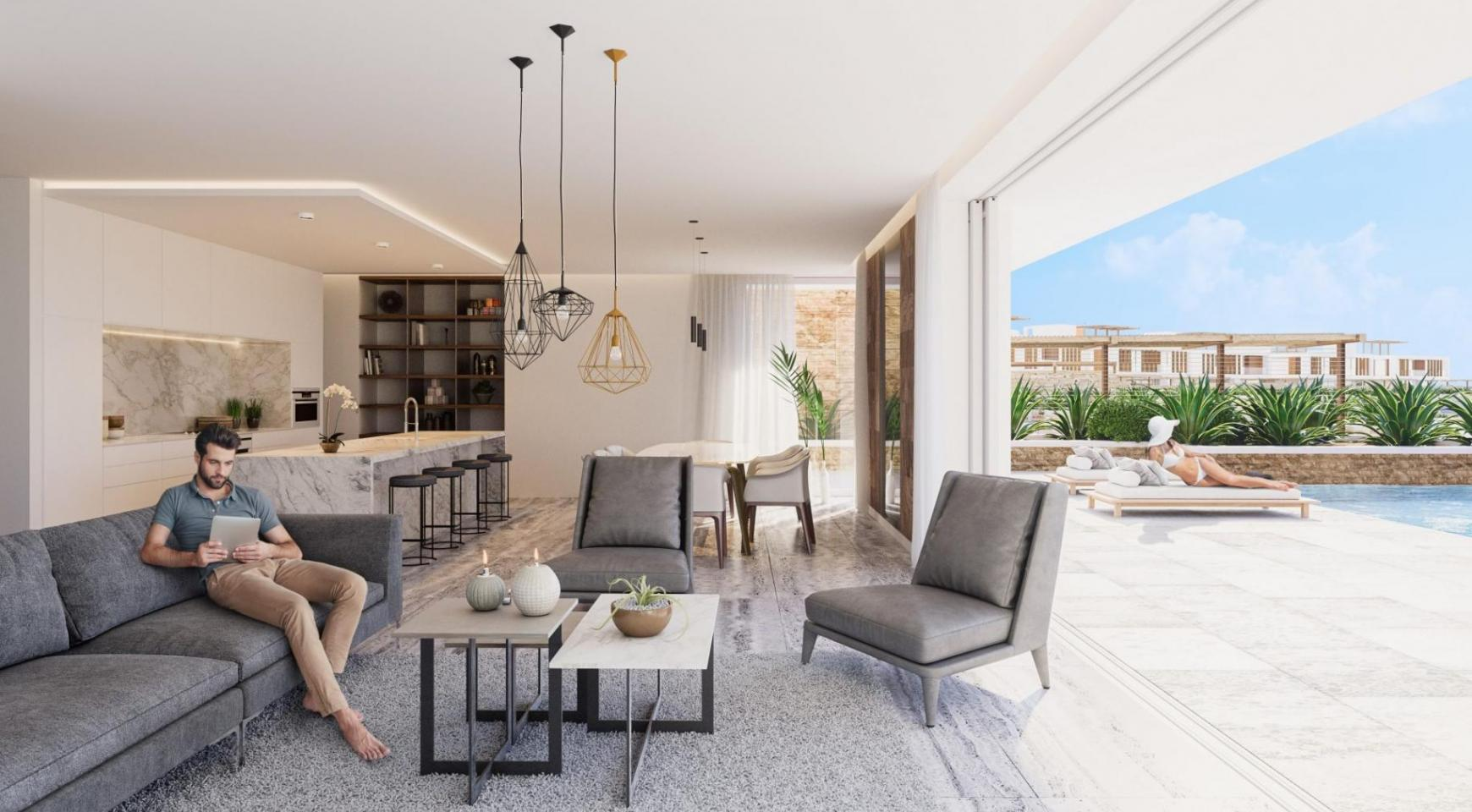 Stunning 3 Bedroom Villa in an Exclusive Project by the Sea - 8