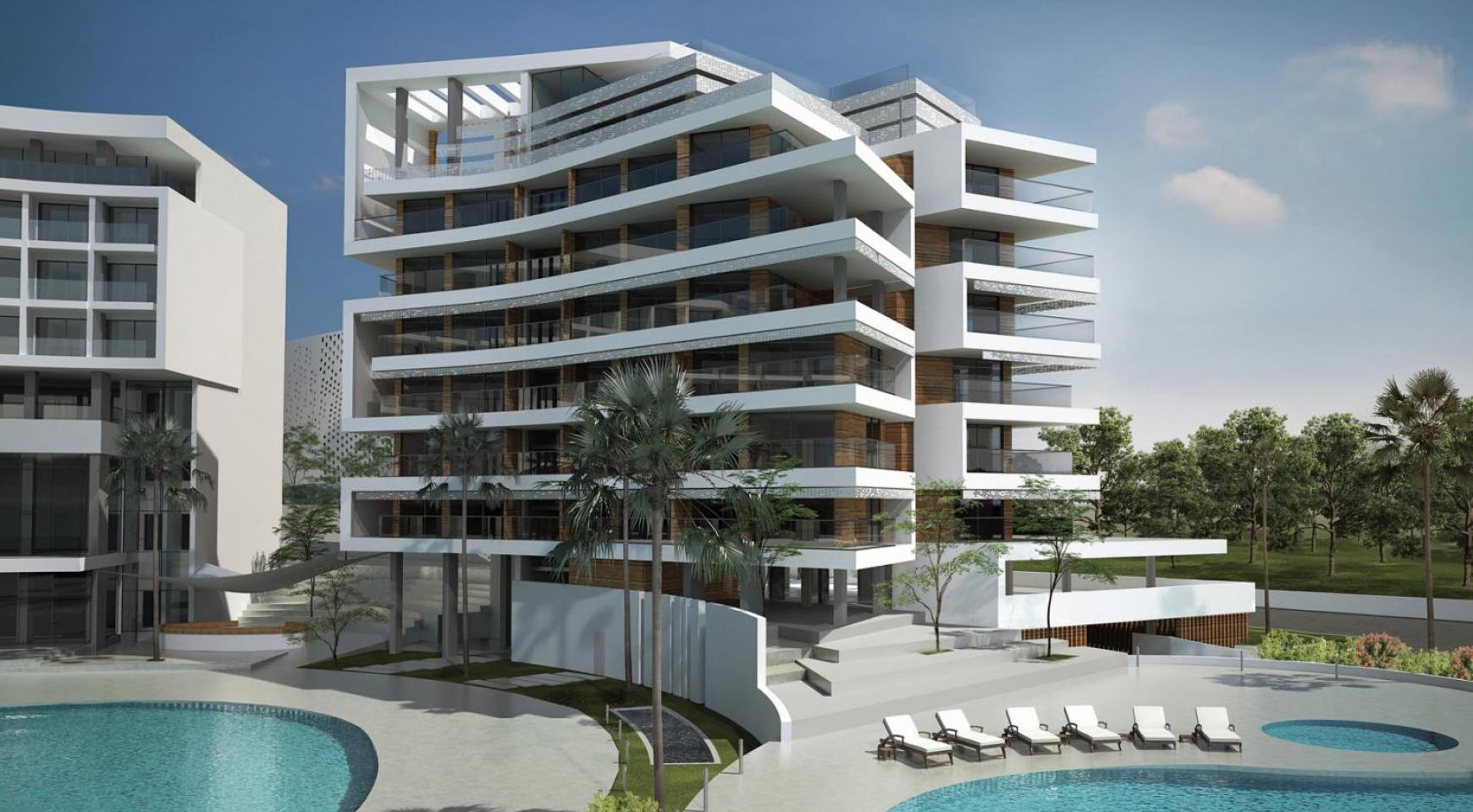 Contemporary 2 Bedroom Apartment in a New Complex by the Sea - 2