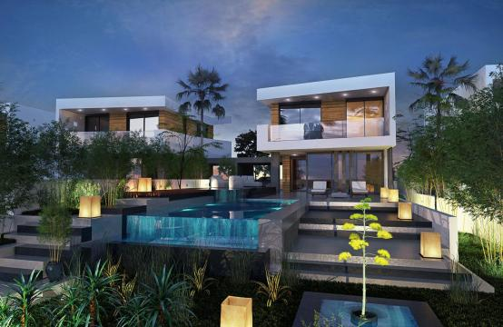 Contemporary 4 Bedroom Villa in a New Project by the Sea