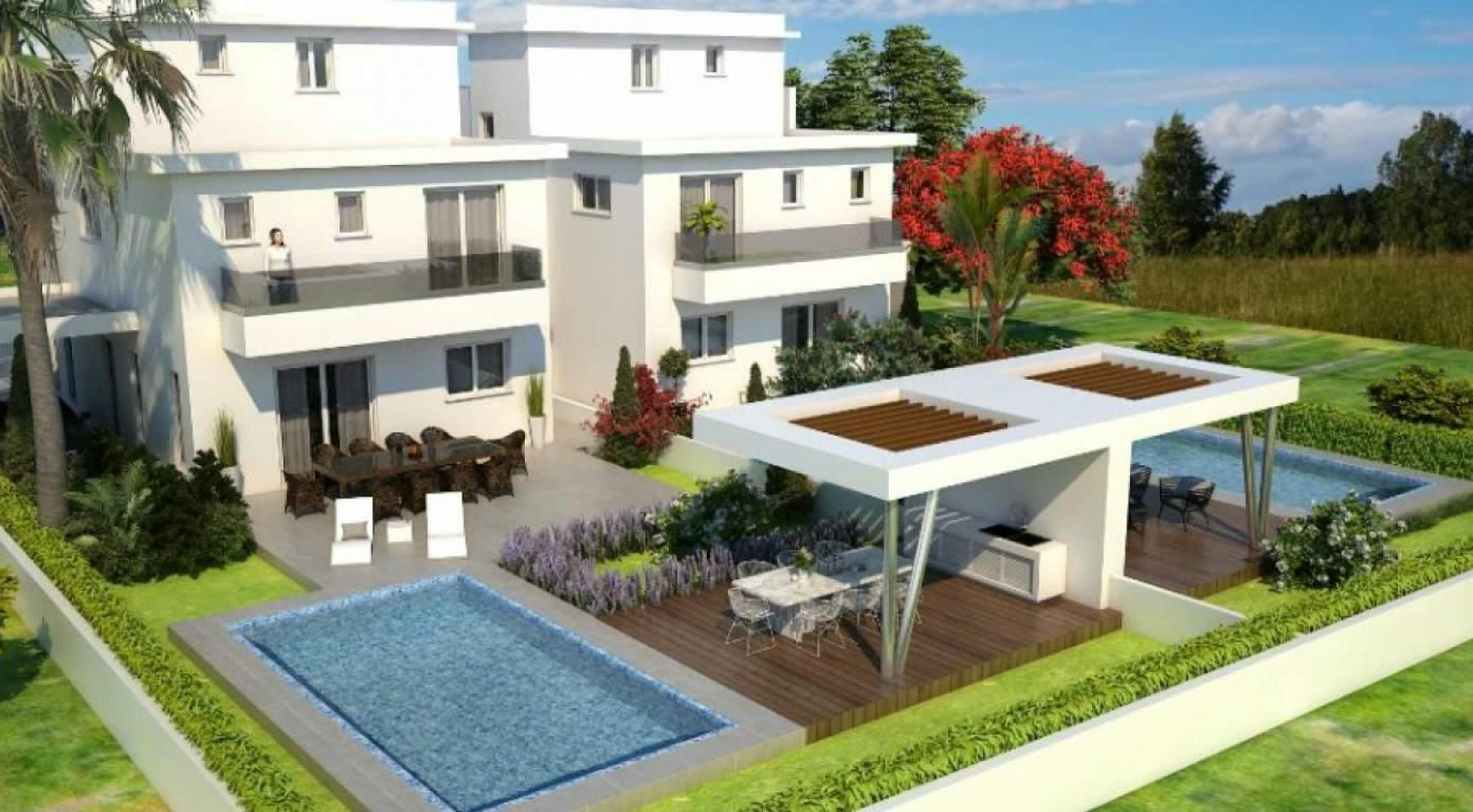 Luxury 4 Bedroom House In Oroklini Area - 7