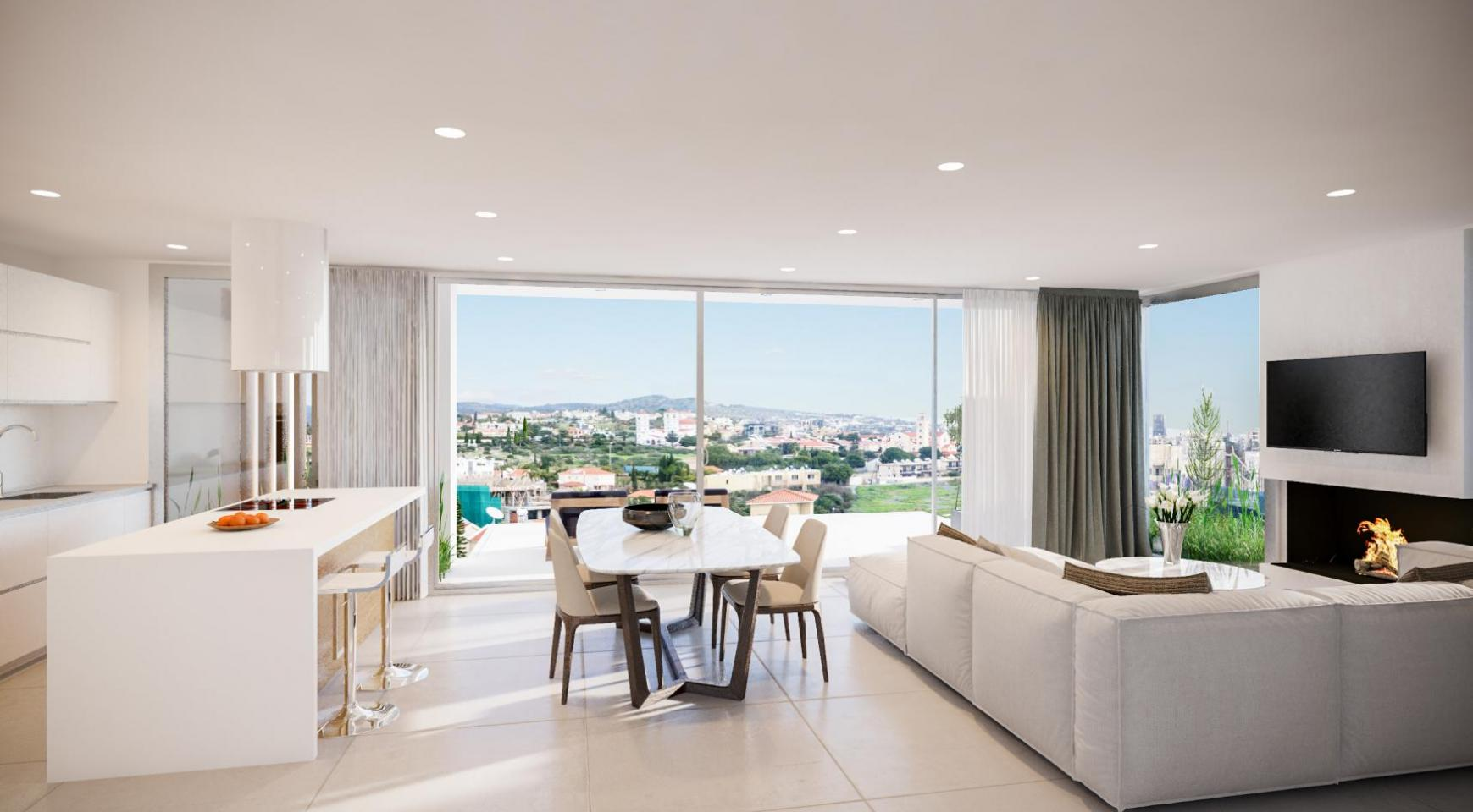 Modern 3 bedroom Penthouse with Private Swimming Pool - 4