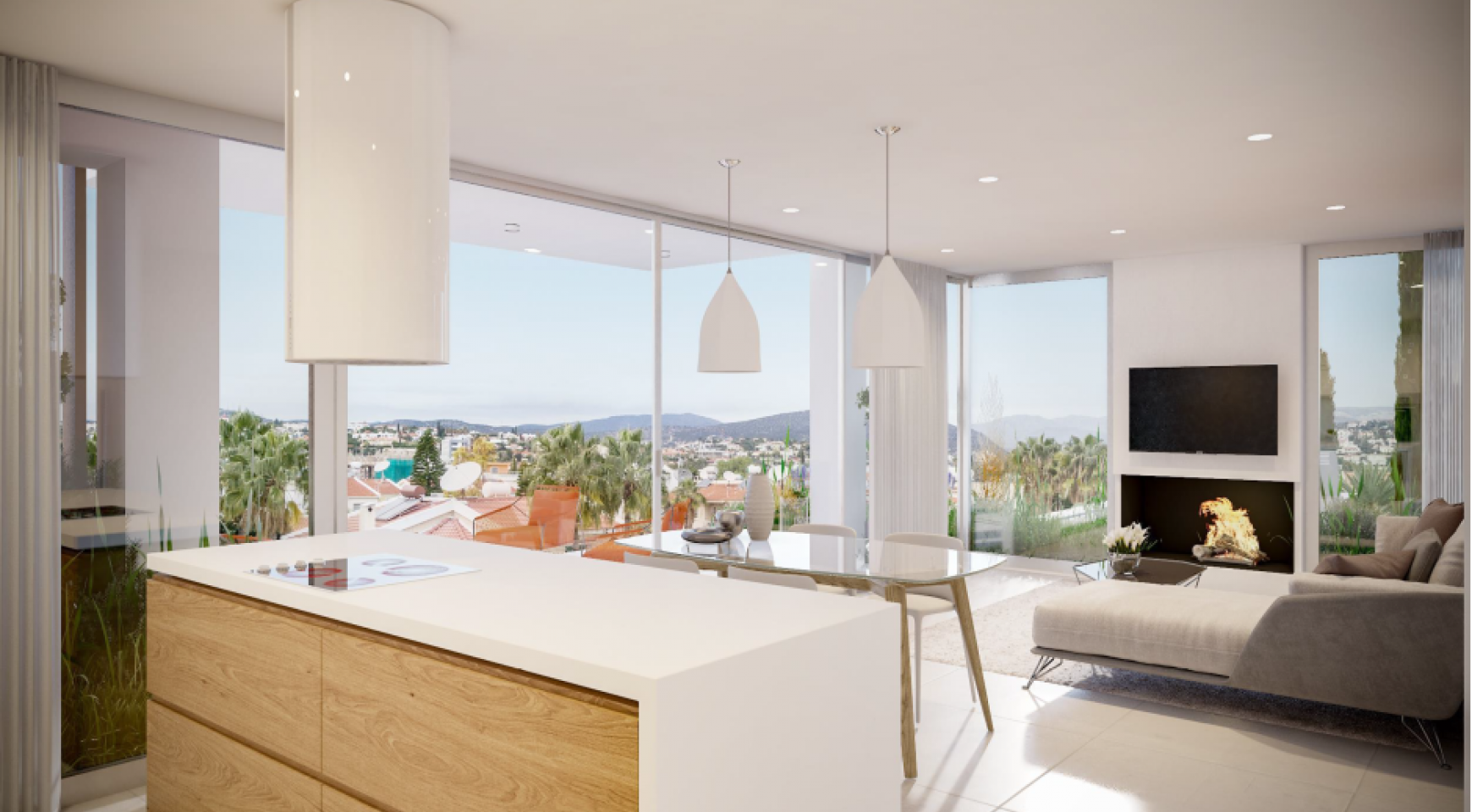 Modern 3 bedroom Penthouse with Private Swimming Pool - 6