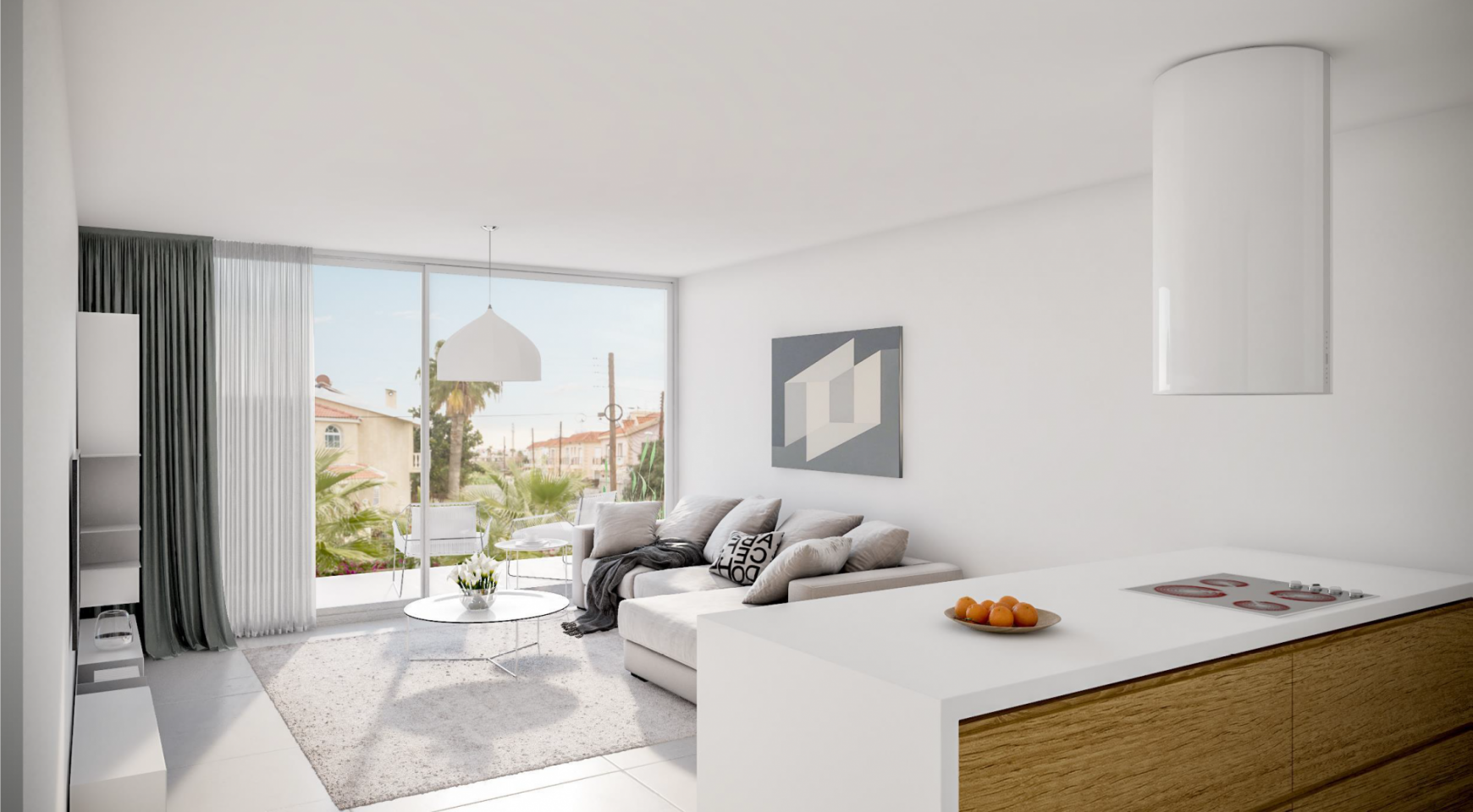 Modern Spacious 2 Bedroom Duplex in a New Complex  - 2