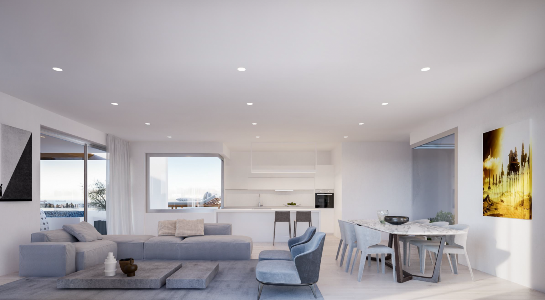 Modern Spacious 2 Bedroom Duplex in a New Complex  - 3
