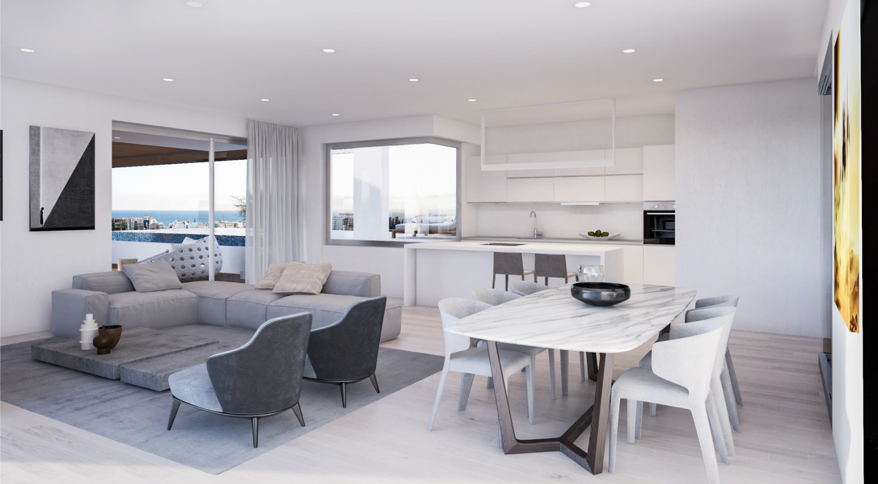 Modern Spacious 2 Bedroom Duplex in a New Complex  - 8