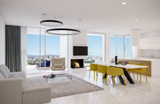 Contemporary 2 Bedroom Apartment in a New Complex