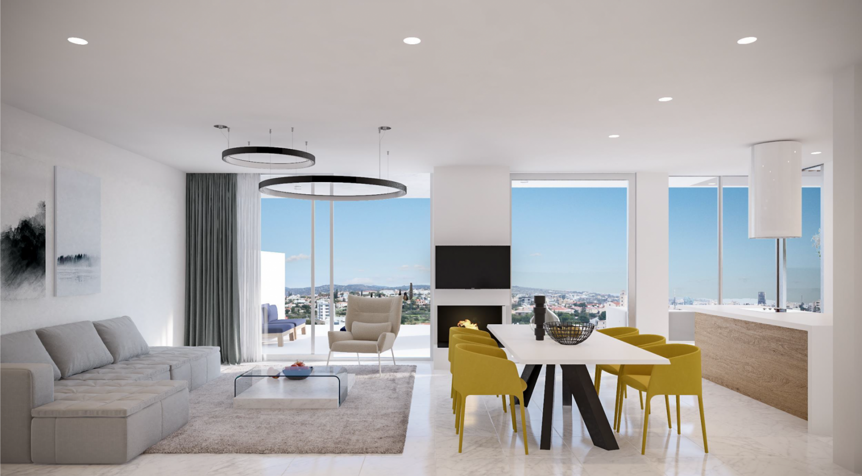 Contemporary 2 Bedroom Apartment in a New Complex - 3