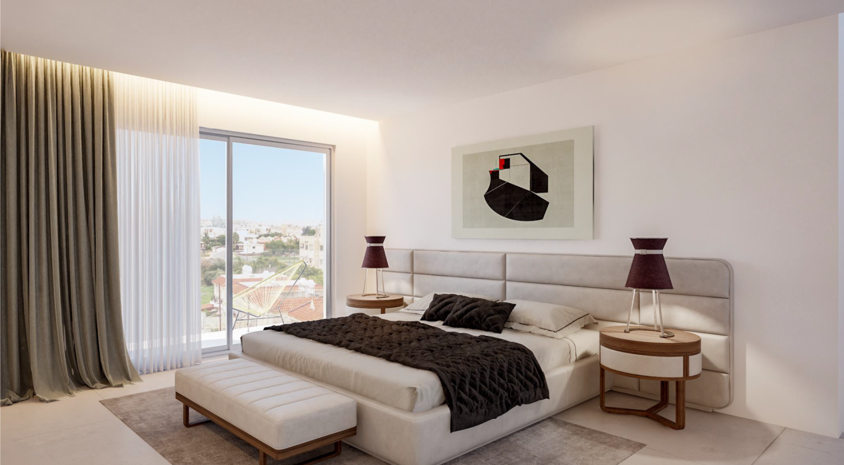 Contemporary 2 Bedroom Apartment in a New Complex - 11