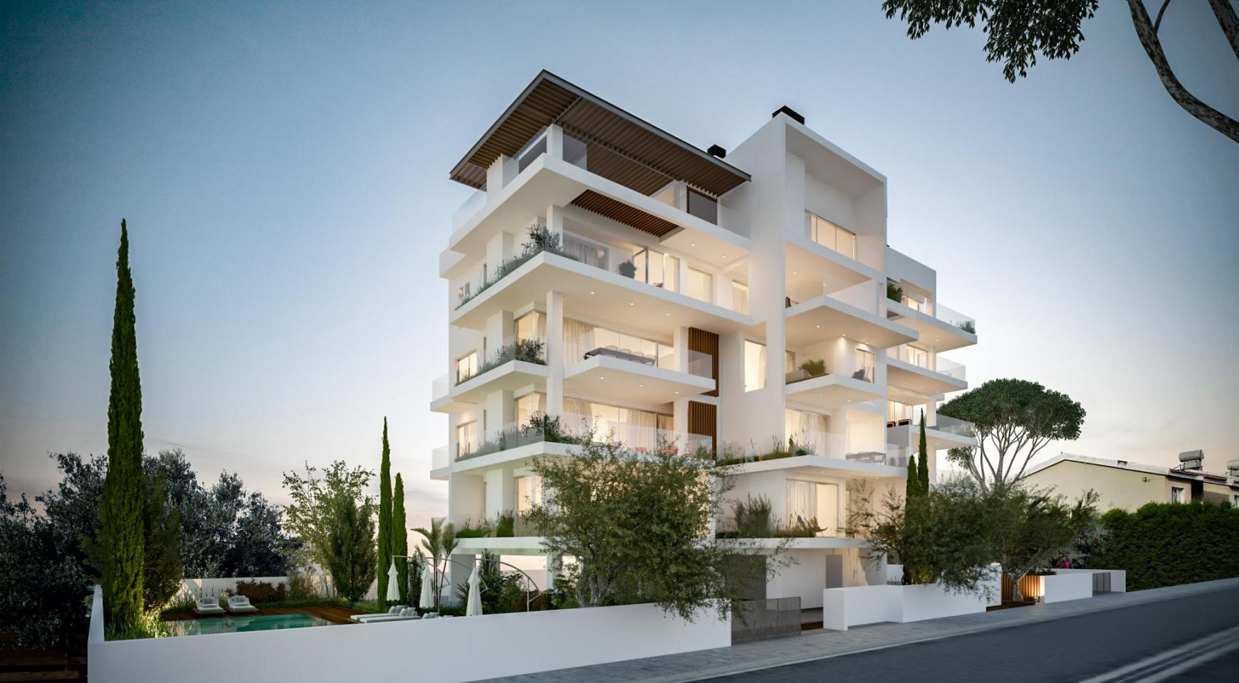 Contemporary 2 Bedroom Apartment in a New Complex - 14