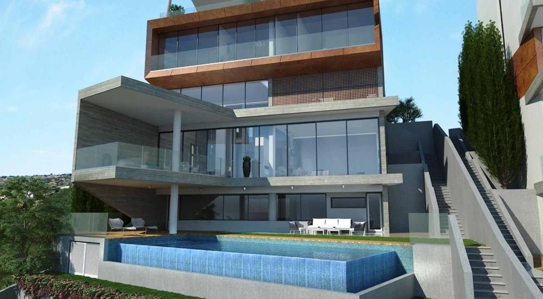 4 Bedroom Villa with Sea Views in Agios Tychonas Area - 2