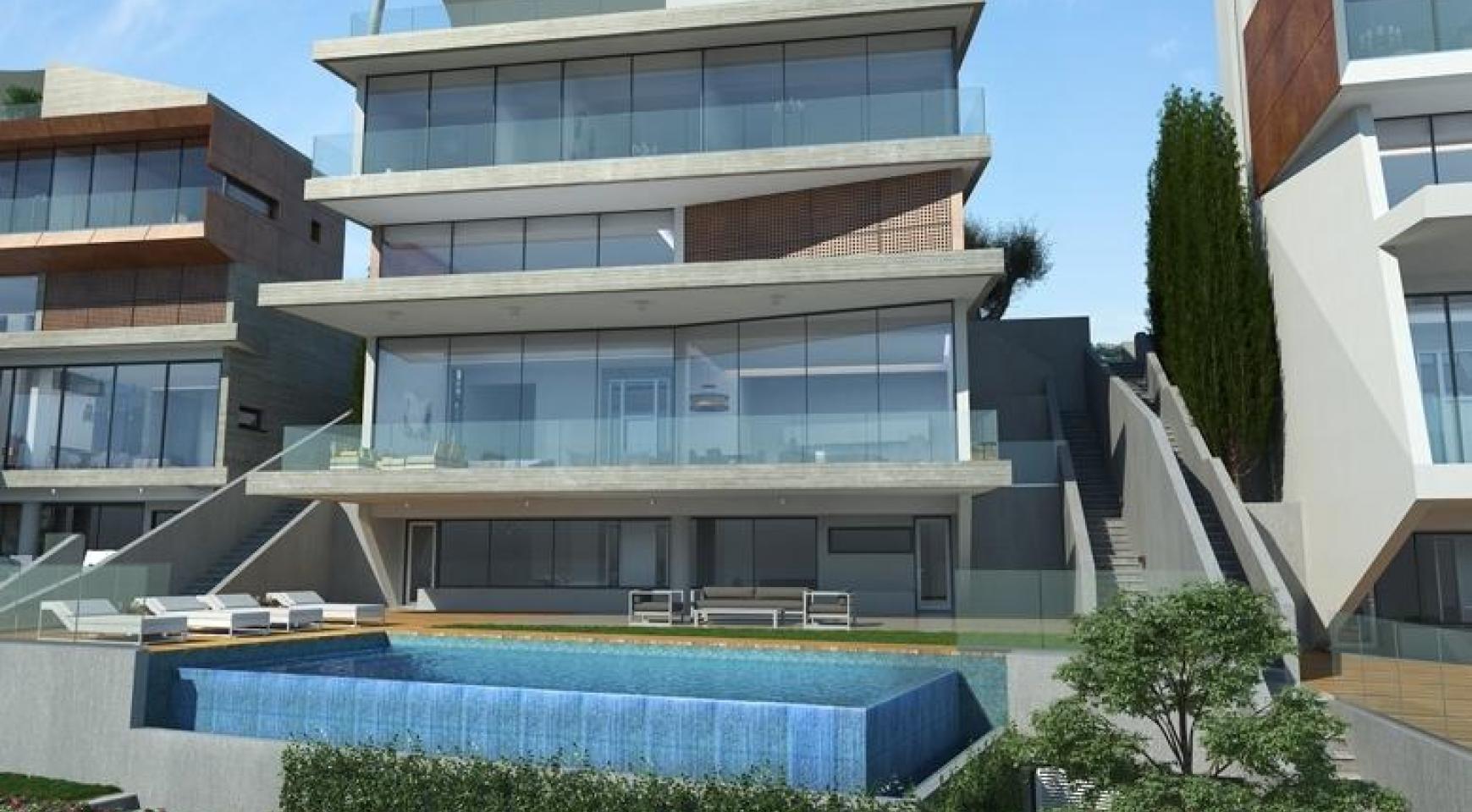 4 Bedroom Villa with Sea Views in Agios Tychonas Area - 1
