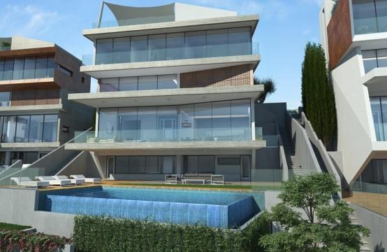Stunning Villa with Amazing Sea and City Views in Agios Tychonas Area