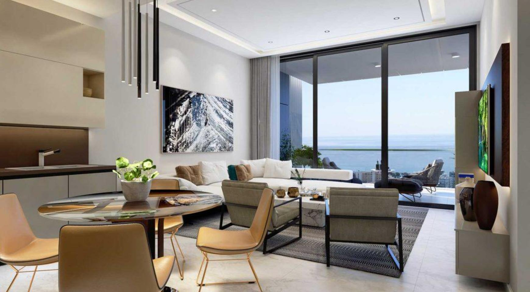 Spacious One Bedroom Apartment with Sea Views in a Luxury Complex - 1