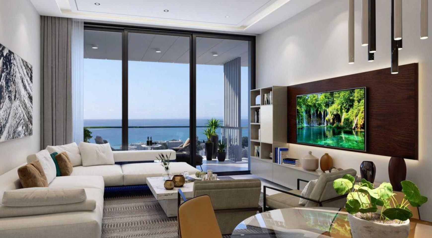 3 Bedroom Apartment with Sea Views in a Luxury Complex - 2