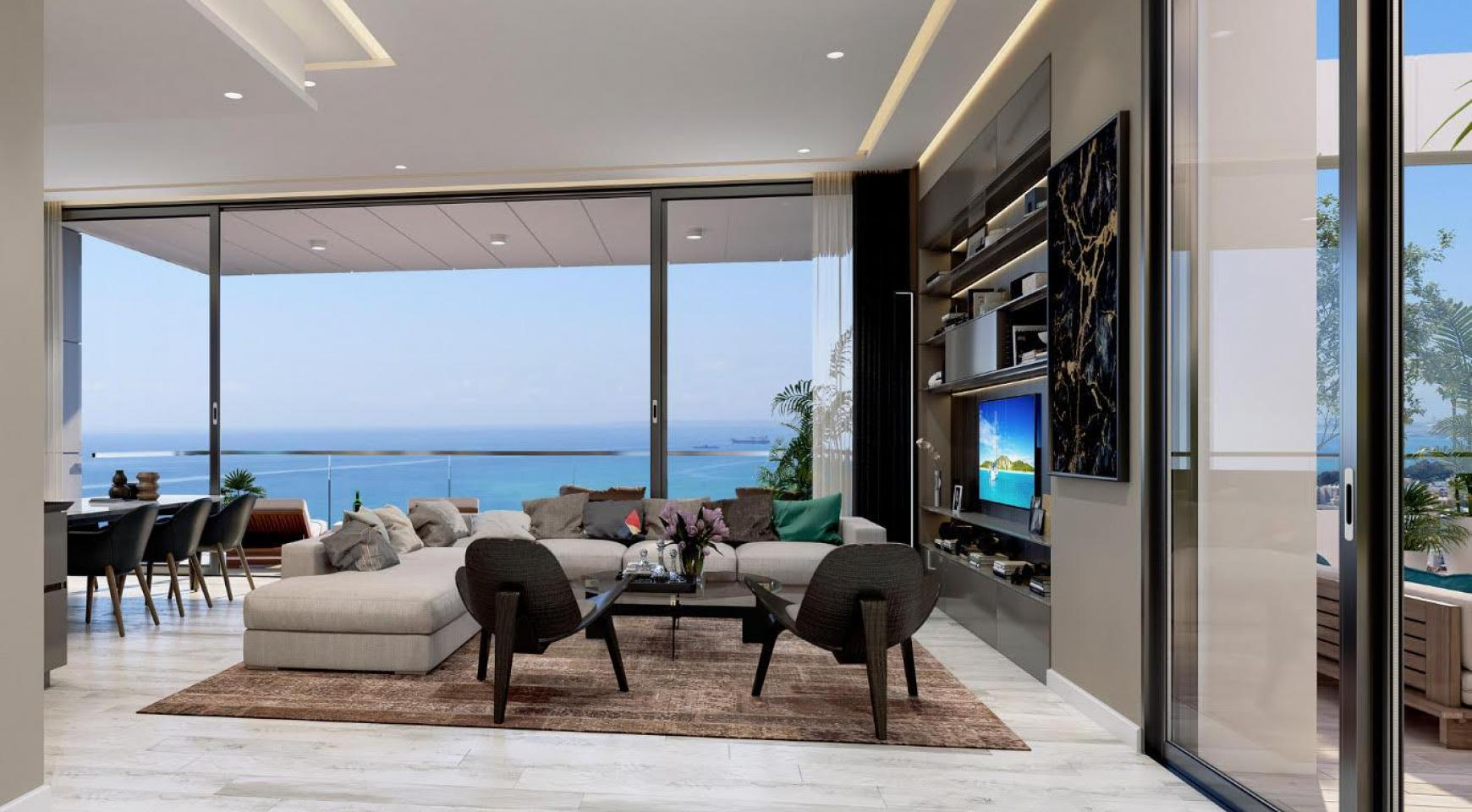 Contemporary 2 Bedroom Apartment with Sea Views in a Luxurious Complex - 2
