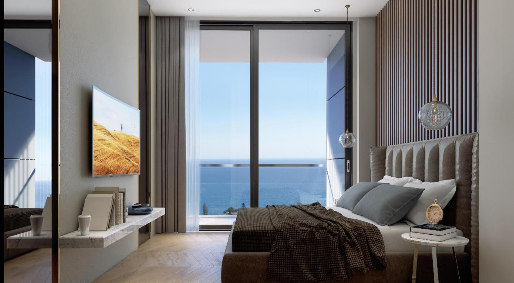 Contemporary 2 Bedroom Apartment with Sea Views in a Luxurious Complex - 9