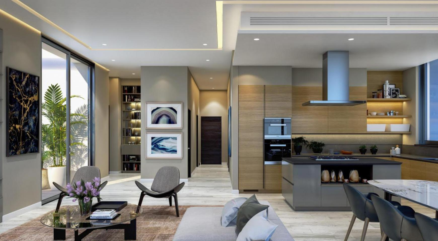 Contemporary 2 Bedroom Apartment with Sea Views in a Luxurious Complex - 8