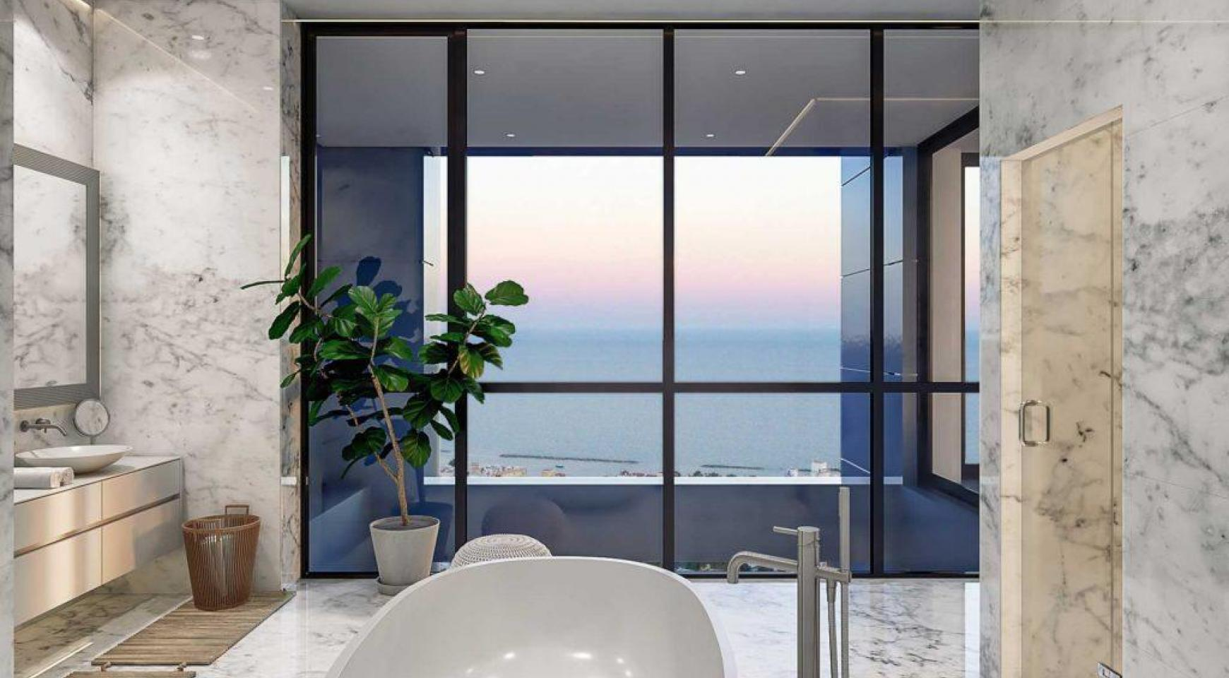 Contemporary 2 Bedroom Apartment with Sea Views in a Luxurious Complex - 10