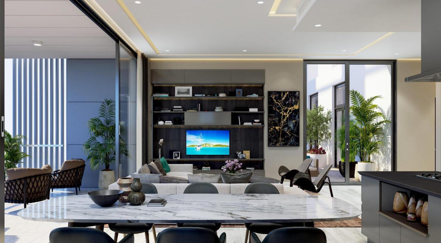 Contemporary 2 Bedroom Apartment with Sea Views in a Luxurious Complex - 7