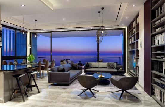 Contemporary 3 Bedroom Apartment with Sea Views in a Luxury Complex