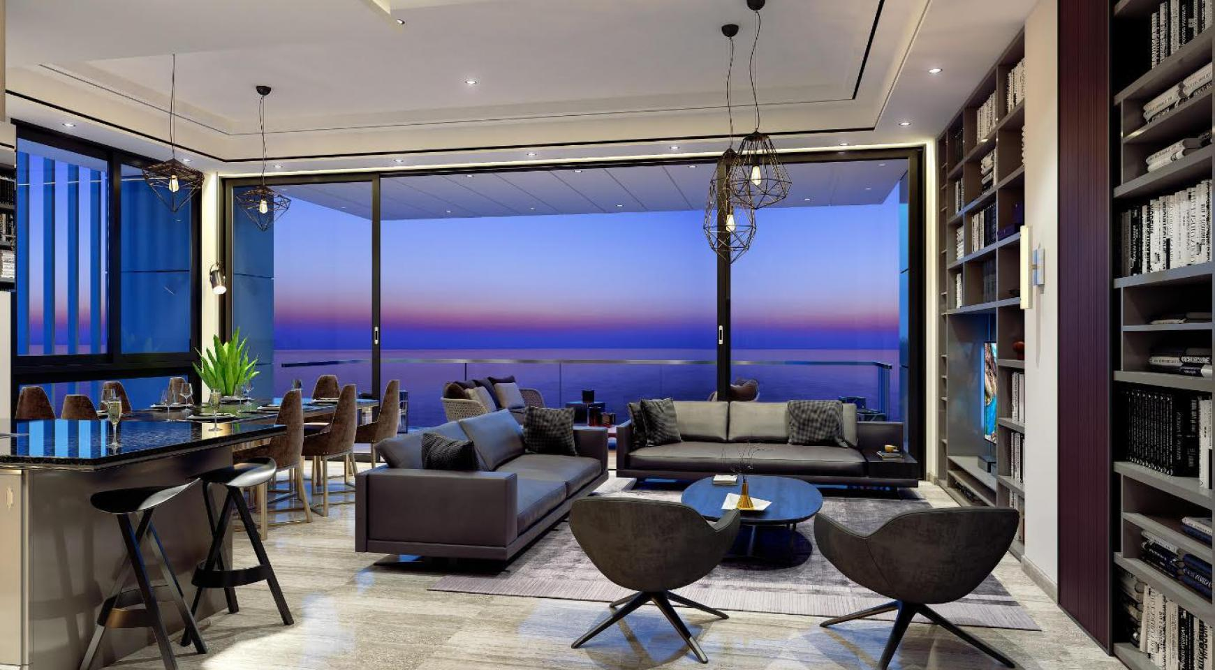 Contemporary 2 Bedroom Apartment with Sea Views in a Luxury Complex - 1