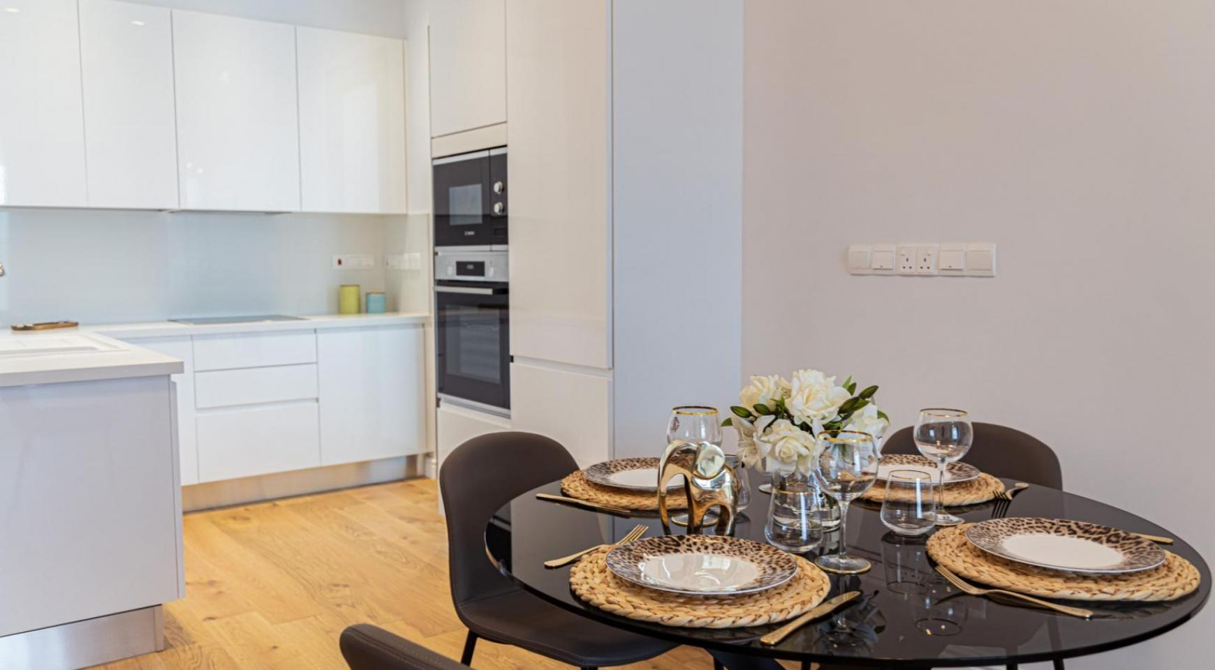 Hortensia Residence, Apt. 102. 2 Bedroom Apartment within a New Complex near the Sea  - 55